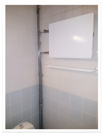 Finnplumber Linjasaneeraus kylpyhuone
