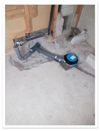 Finnplumber Linjasaneeraus kylpyhuoneet kerrostalo