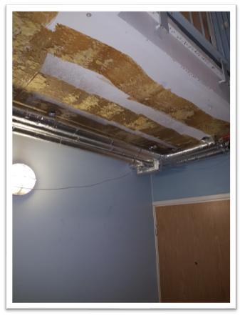 Linjasaneeraus Finnplumber putkien kattokiinnitys